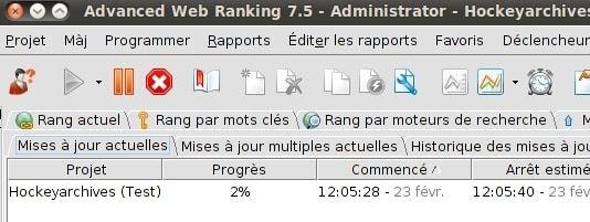 Advanced Web Ranking, outil de suivi SEO