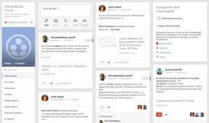 Communauté Web Analytics sur Google+